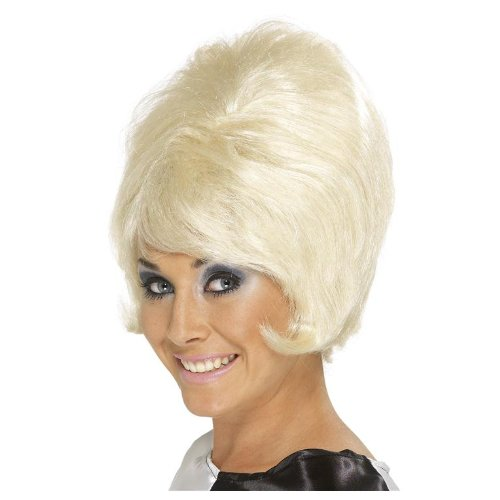 Sixties Beehive Wig – Blonde – Ladies ()