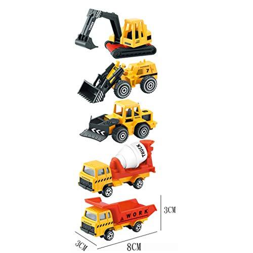 Auto giocattolo in lega per bambini set escavatore ingegneria automobilistica/militare / polizia/modello giocattolo auto ragazzo