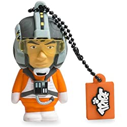 Tribe Star Wars X-Wing Pilot 16 GB - USB flash drives (Grey, Orange, USB 2.0, Cap, CE, RoHS, FCC)
