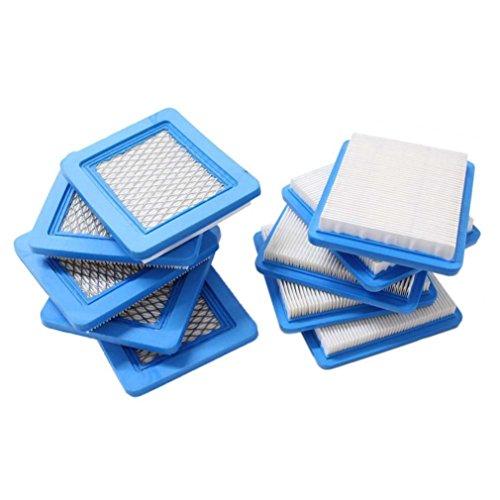 Beehive Filtro Confezione con 10pezzi Filtro dell' aria per Briggs & Stratton 491588491588S 4915885399959John Deere pt15853