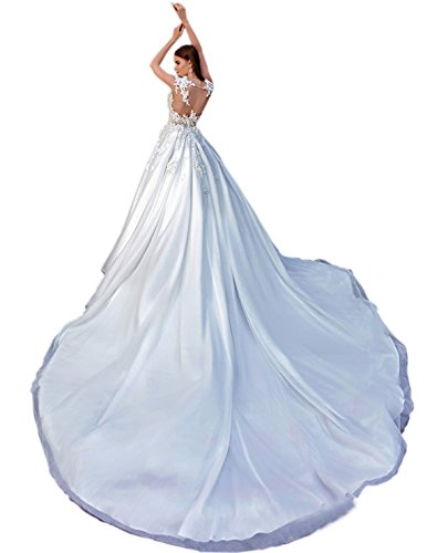 Ikerenwedding - Robe - ball gown - Femme Blanc