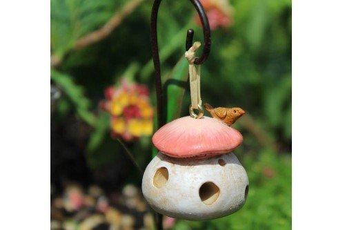 Wholesale Fairy Gardens Miniatur Mushroom Fairy Garden Vogelfutterstation -