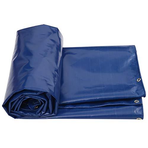 GONGFF Tarps Tarpaulin PVC-Regentuch Wasserdichtes Sonnenschutz-Isolationstuch, Dicke 0,6 mm, 600 g / m2, 3 Größenoptionen (Farbe: 4 m * 4 m) -