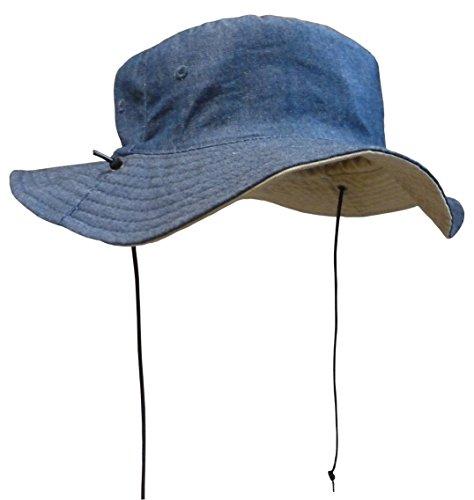 N 'Ice Caps Unisex Kinder wendbar und verstellbar Baumwolle Hut Twill Aussie, schwarz, 402