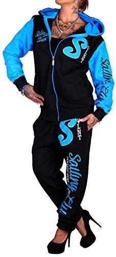 Damen Jogging-Anzug | Sailing Club 687 (XL-fällt groß aus, Blau)