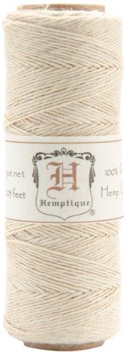 Hemp Cord Spool 10lb 205'-Natural (10 Lb Spool)