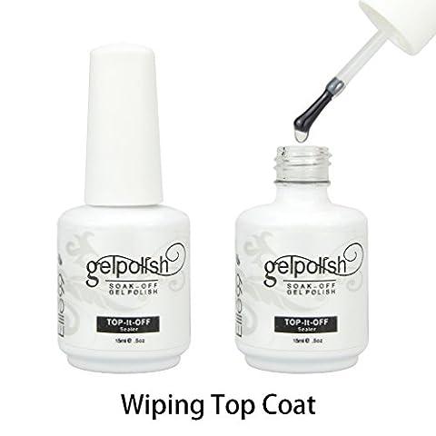 Elite99 15ml Wiping Top Coat UV LED Gel Nail Polish