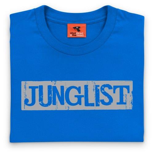 Junglist T-Shirt, Herren Royalblau
