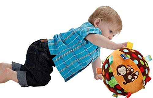 domila Hände Infant Baby Rasseln Ball Training Ball Bildungs-Spielzeug Mädchen-softball-schuhe