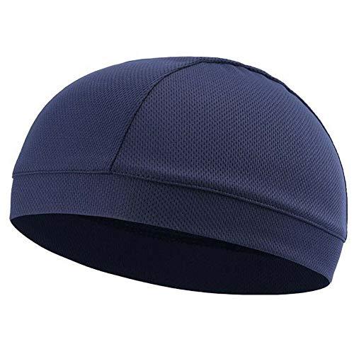 Phnirva 1 Pcs Moisture Wicking Cooling Skull Cap Inner Liner Helmet Beanie Dome Cap Sweatband -