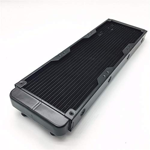 Nrpfell 360mm Aluminium 18 Rohr Computer Pc Wasser Kühlung System Drainage Pc CPU Flüssigkeits Wasser Kühler Radiator -