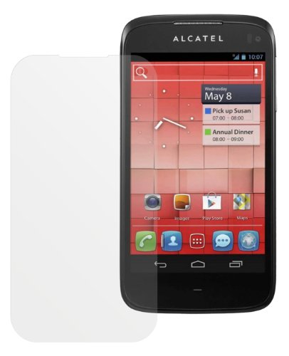 2x Dipos Antireflex Displayschutzfolie für Alcatel One Touch 997D