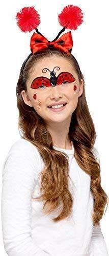 en Mini Biest Käfer Hummel Marienkäfer Make-Up Gesichtsbemalung Kostüm Verkleidung Zubehör Satz ()