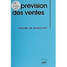 La Prévision des ventes (Gestion) (French Edition)