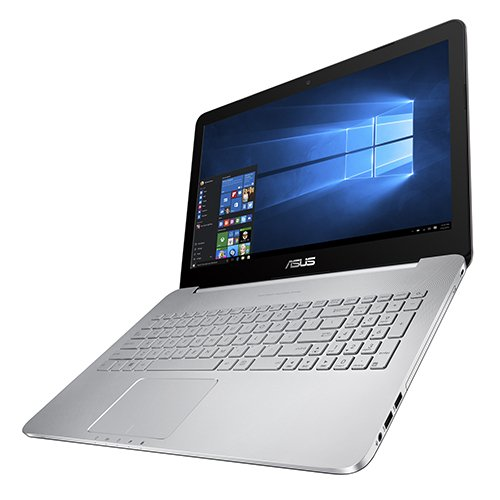 "ASUS VivoBook Pro N552VX-FY200T 2.6GHz i7-6700HQ 15.6"" 1920 x 1080pixels Nero, Argento - notebooks (i7-6700HQ, DVD Super Multi DL, Touchpad, Windows 10 Home, Lithium-Ion (Li-Ion), CD, CD-R, CD-ROM, CD-RW, DVD, DVD+R, DVD+R DL, DVD+RW, DVD+RW DL, DVD-R, DVD-R DL, DVD-RAM, DVD-ROM,)"