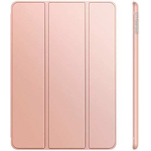 JETech Hülle für iPad Mini 3 iPad Mini 2 iPad Mini, Schutzhülle mit Ständer Funktion und Auto Einschlafen/Aufwachen, Roségold