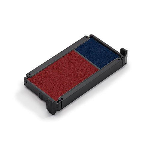 Trodat 6-4912-2DB Ersatzkissen 6/4912/2 für Printy Modelle, 2 Stück, blau/rot -