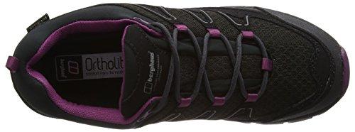 Berghaus Damen Explorer Active Gtx Tech Shoes Trekking-& Wanderhalbschuhe Mehrfarbig (Black/purple Z46)