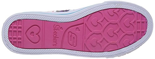 Skechers - ShufflesGlitter N Glitz, Sneakers per bambine e ragazze Viola (PRTQ)