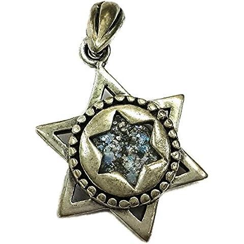 Terra Santa a mano in argento 925 1