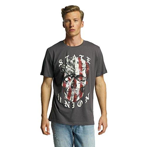 Jack & Jones Herren Oberteile / T-Shirt jjorSawe Grau