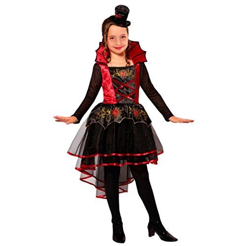 Widmann 07498 Kinderkostüm Vampirin, 158 (Vampir Mädchen Kostüm Amazon)