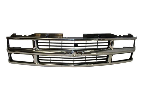 1994 1995 1996 1997 1998 1999 CHEVY SUBURBAN GRILLE CHROME / BLACK NEW by NEW AFTERMARKET PARTS - 1997 Chevy Suburban