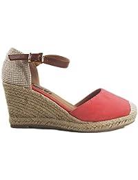 a67f1a74d67 Amazon.es  Sandalias Color Coral - Sandalias de vestir   Zapatos ...