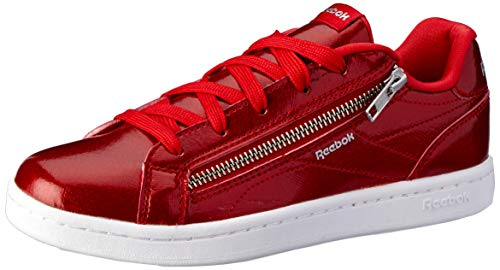 omp CLN Zip Tennisschuhe, Mehrfarbig (Holiday Red Sparkle/White 000), 35 1/3 EU ()