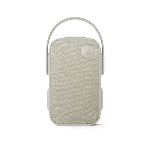 Libratone ONE Click Bluetooth Lautsprecher (360° Sound, Touch Bedienung, IPX4 Spritzwassergeschützt, 12 Std. Akku) cloudy grey