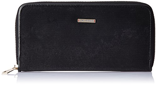 Lino Perros Women's Wallet (Black)  available at amazon for Rs.347