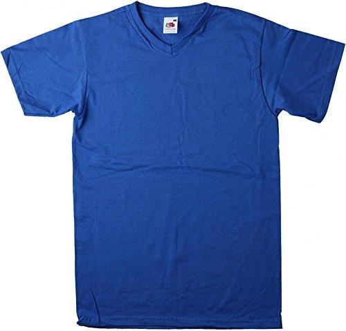 Valueweight V-Neck T Royal Blue