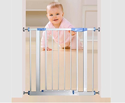 Syga Baby Safety Gate Suitable for Door Bar (75 to 85cm, White)