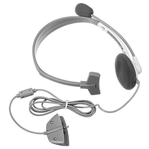 Headphone Cuffie HeadSet Microphone w/ Mic HeadPhone per XBOX 360 Live