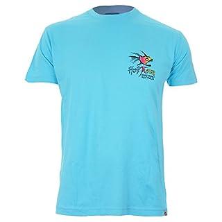 Hot Tuna Rainbow-Mens-T-Shirts (Atoll Blue Abl), XX (Size:XX Large)