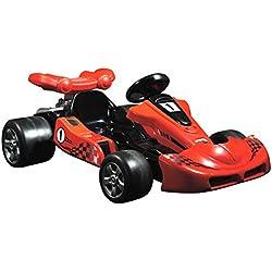 Charles Bentley Toyrific Red Ride On eléctrico Circuito de karts de carreras de coches de la batería 12v Edad 3-8 Año Nuevo Modelo