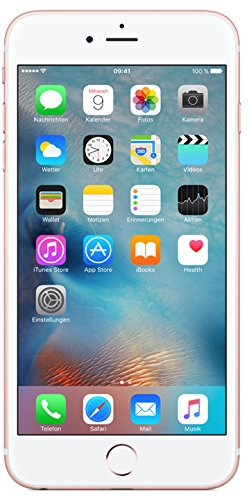 Apple iPhone 6s Plus Smartphone (13,9 cm (5,5 Zoll) Display, Plus 64GB interner Speicher, IOS) Rosegold