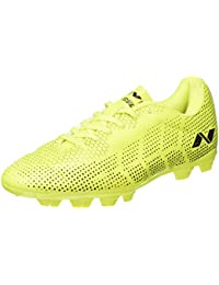 Nivia Encounter Football Shoes (Yellow/blue, 5)