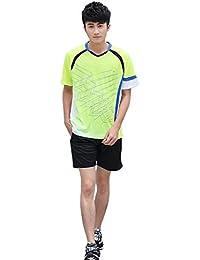 Cissei Camiseta Básica de Manga Corta Modelo Para Hombre Bordado de Flores