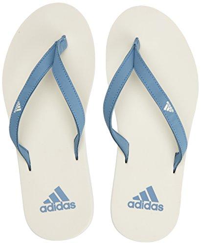 adidas Eezay Flip Flop, Scarpe da Scogli Donna, Grigio cwhite/rawgre Cg3558, 42 EU
