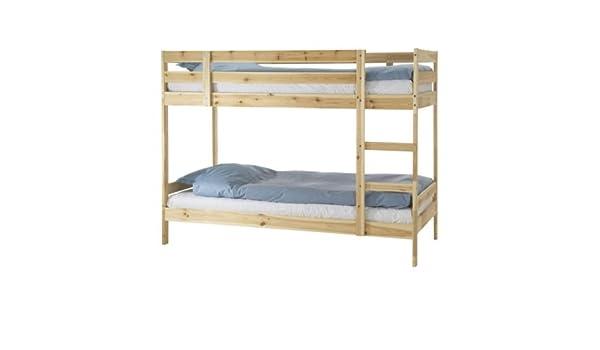 Ikea Etagenbett Mydal : Mydal etagenbett kiefer ikea für cm matratzen