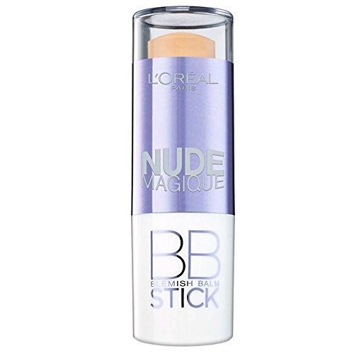 L'ORÉAL PARIS Nude Magique BB Crème Application Stick Peau Claire à Médium 36 g