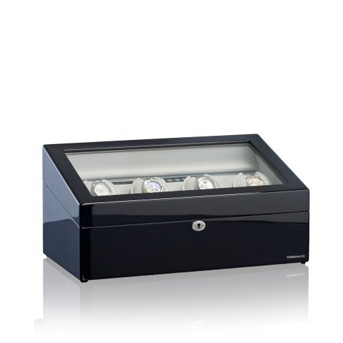 Designhütte Uhrenbeweger München 4 LCD Schwarz