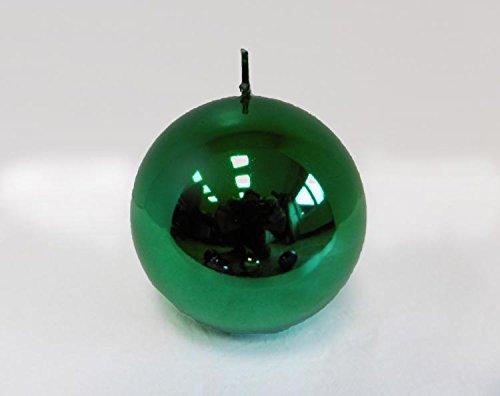 Candle Metallica, Vert, Sphère mm. 100 Couleur Vert
