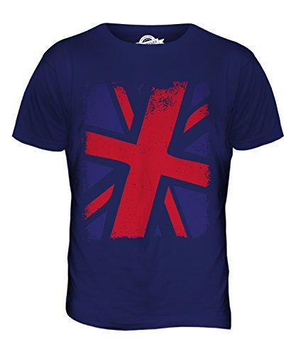 CandyMix Großbritannien Union Jack Herren T Shirt Navy Blau