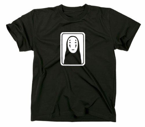 Chihiros Reise ins Zauberland, Ohngesicht T-Shirt, TV, L, schwarz