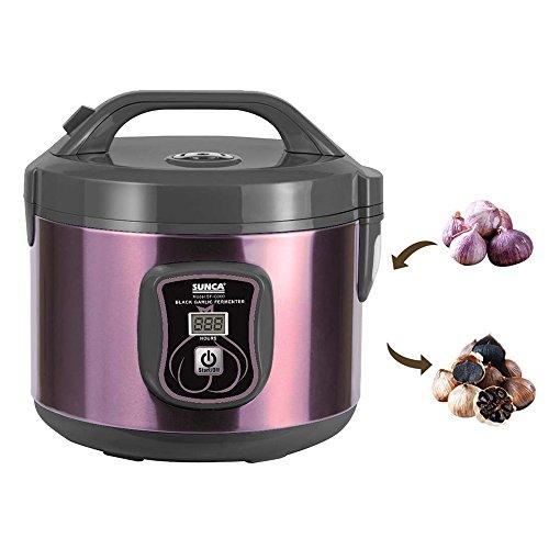 TOPQSC schwarzer Knoblauch Fermenter schwarzer Knoblauch Maschine hausgemachter schwarzer Knoblauch automatischer Betrieb (3L) (Knoblauch-butter-reis)