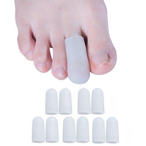 Sumiwish [10x] Protezione Dita Piedi, Protezione Tubolare Gel per Sport, Wen Correre, Camminare, Prevenire Vesciche, Mais, Calli, Protect Nail Toes, Mal Di Piedi, Silicone Dita