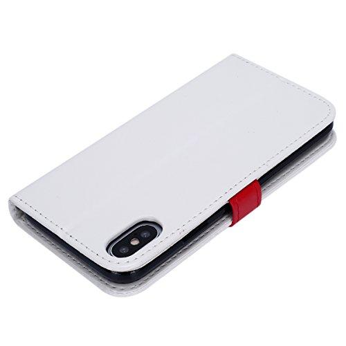cover iphone x custodia portafoglio