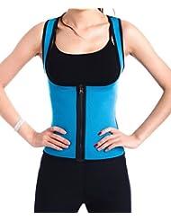 Butterme Damen Frauen Sport Neopren Sweat Abnehmen Taillen Trainer Cincher K/örper Former Bodysuit f/ür Gewicht Verlust